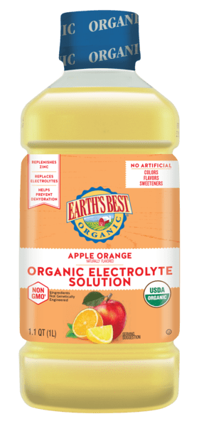 Apple Orange Electrolyte Solution