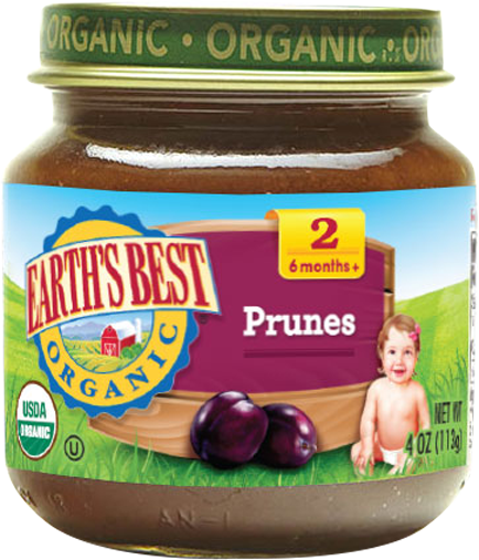 Earth's Best Prunes - Stage 2