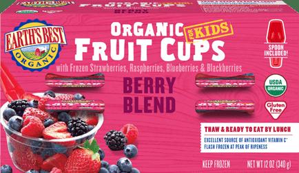 Berry Blend Frozen Fruit Cups