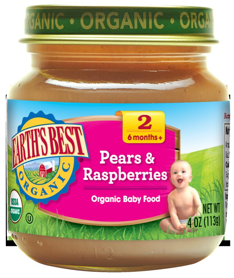 Pears & Raspberries