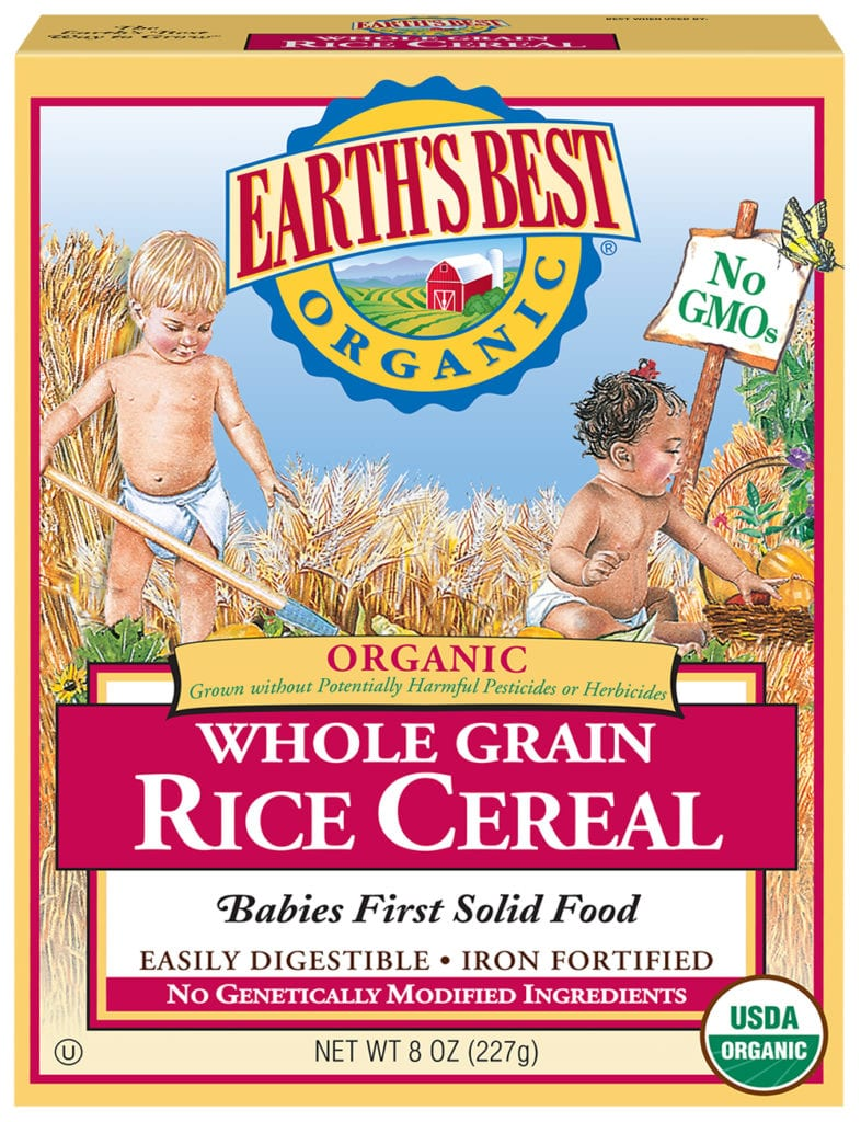Whole Grain Rice Infant Cereal