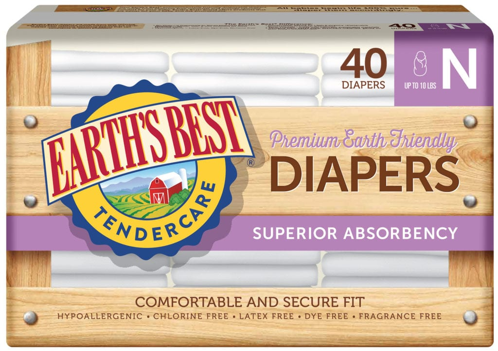 Diapers Size N-40 ct