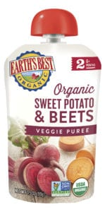 Sweet Potato & Beets Veggie Puree
