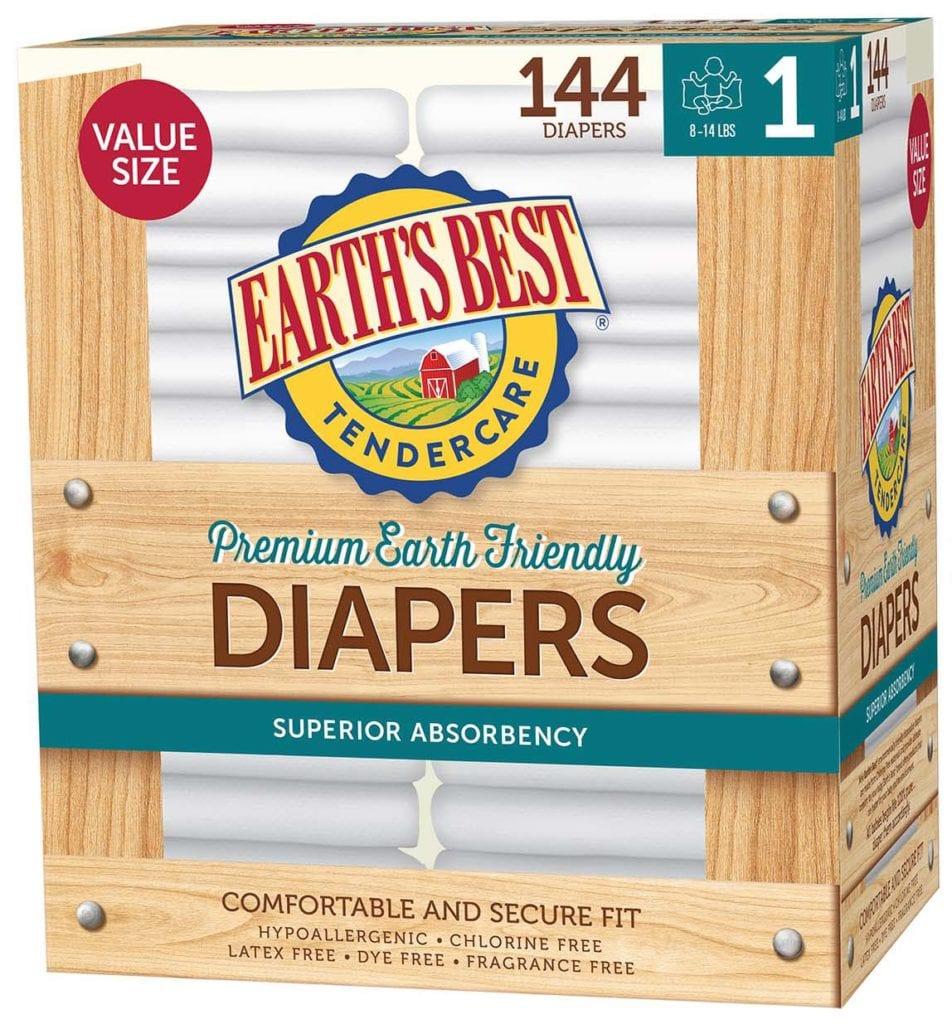 Diaper Value Size 1-144 ct