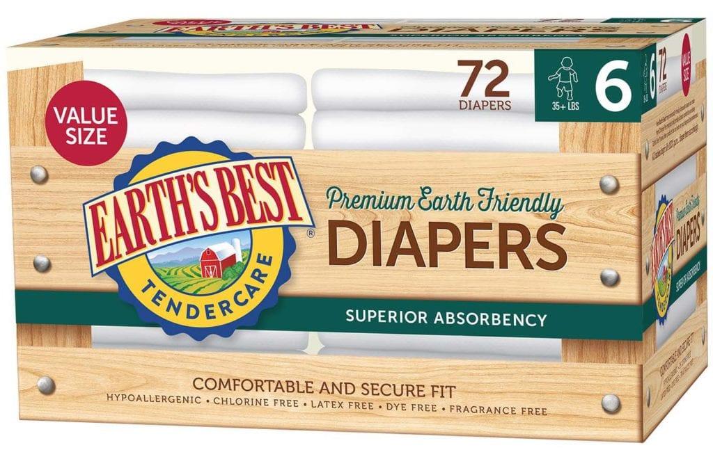Diaper Value Size 6-72 ct