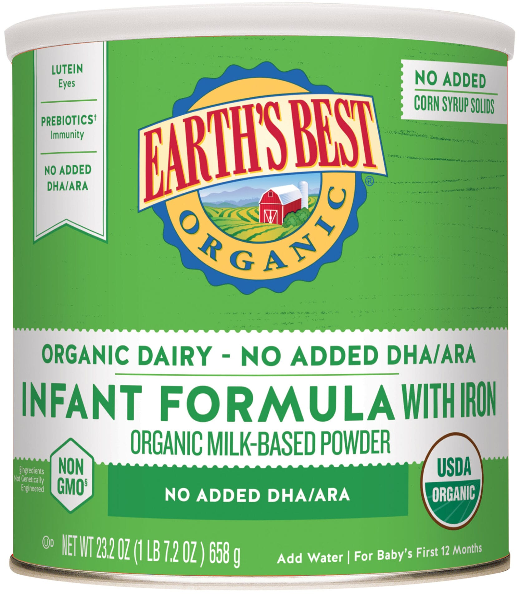 Infant Formula Without Dha 23 2 Oz Earth S Best Organic