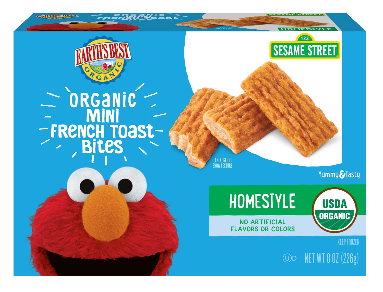 Organic Frozen Mini French Toast Bites Earth S Best