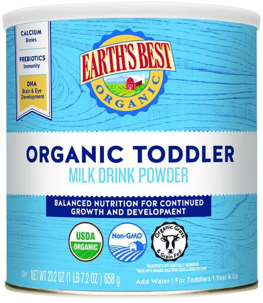 Organic Toddler Milk Drink Powder