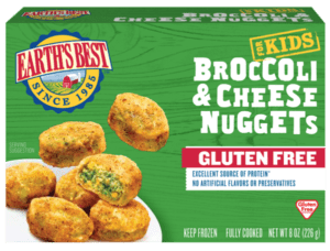 Gluten Free Broccoli & Cheese Nuggets