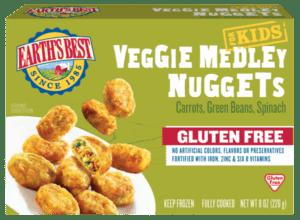 Gluten Free Veggie Nuggets