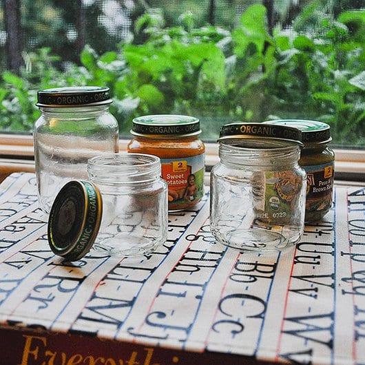 Baby Food Jar Diy Crafts To Reuse Your Jars Earth S Best