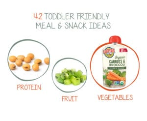 42 Toddler Food Ideas