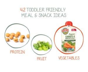 42 Toddler Food Ideas
