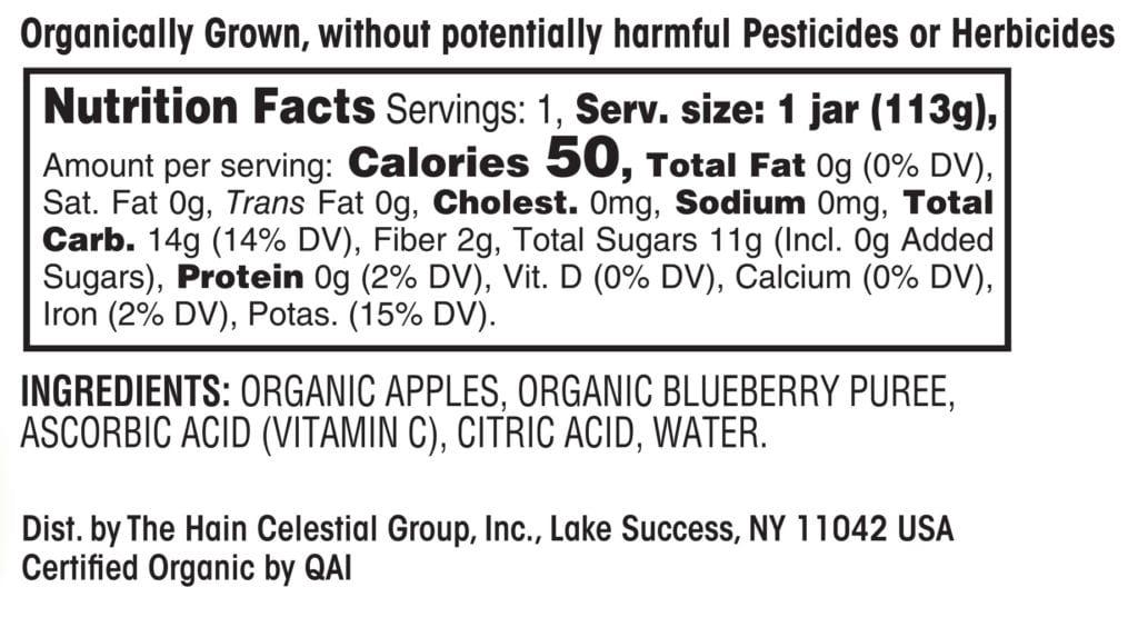 Apples & Blueberries