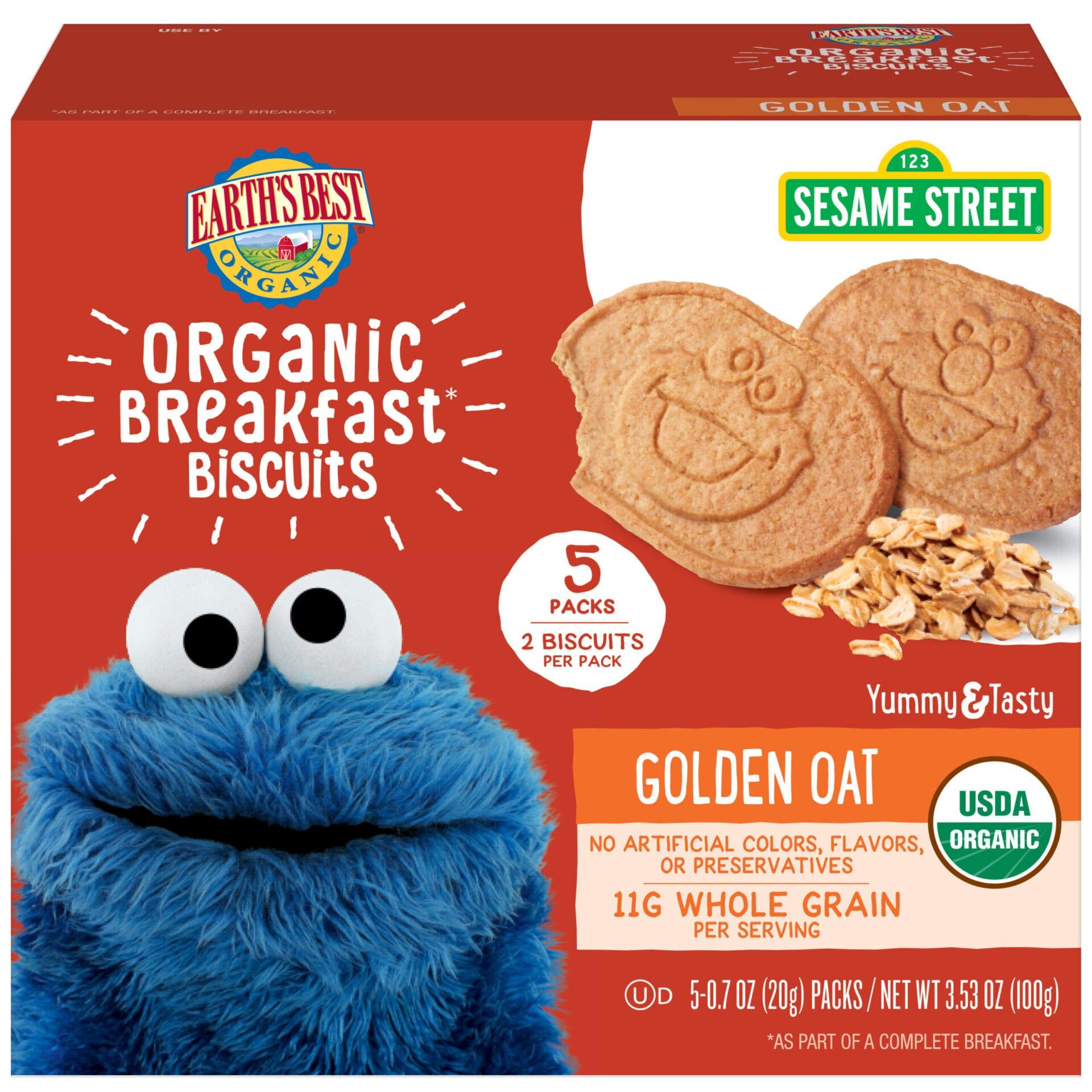 Organic Golden Oat Breakfast Biscuits Earth S Best