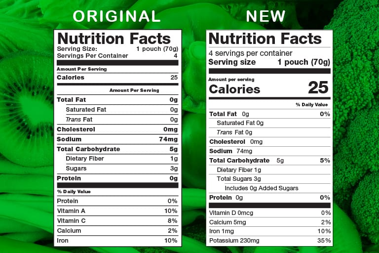 Our Nutritionist Guide To The New 2020 Food Label And How You Can Use It To Eat Smarter Earth S Best Organic Infant And Toddler Foods