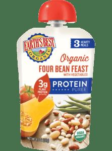 Four Bean Feast Organic Protein Pouch