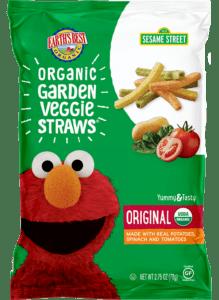 Garden Veggie Straws